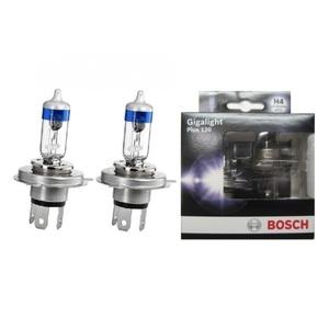 Комплект галогенных ламп 2шт H4 12V-60/55W P43t Gigalight Plus 120 (увеличенная светоотдача на 120%)