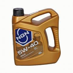 5W-40 GOLD SN/CF 4л (синт. мотор. масло)